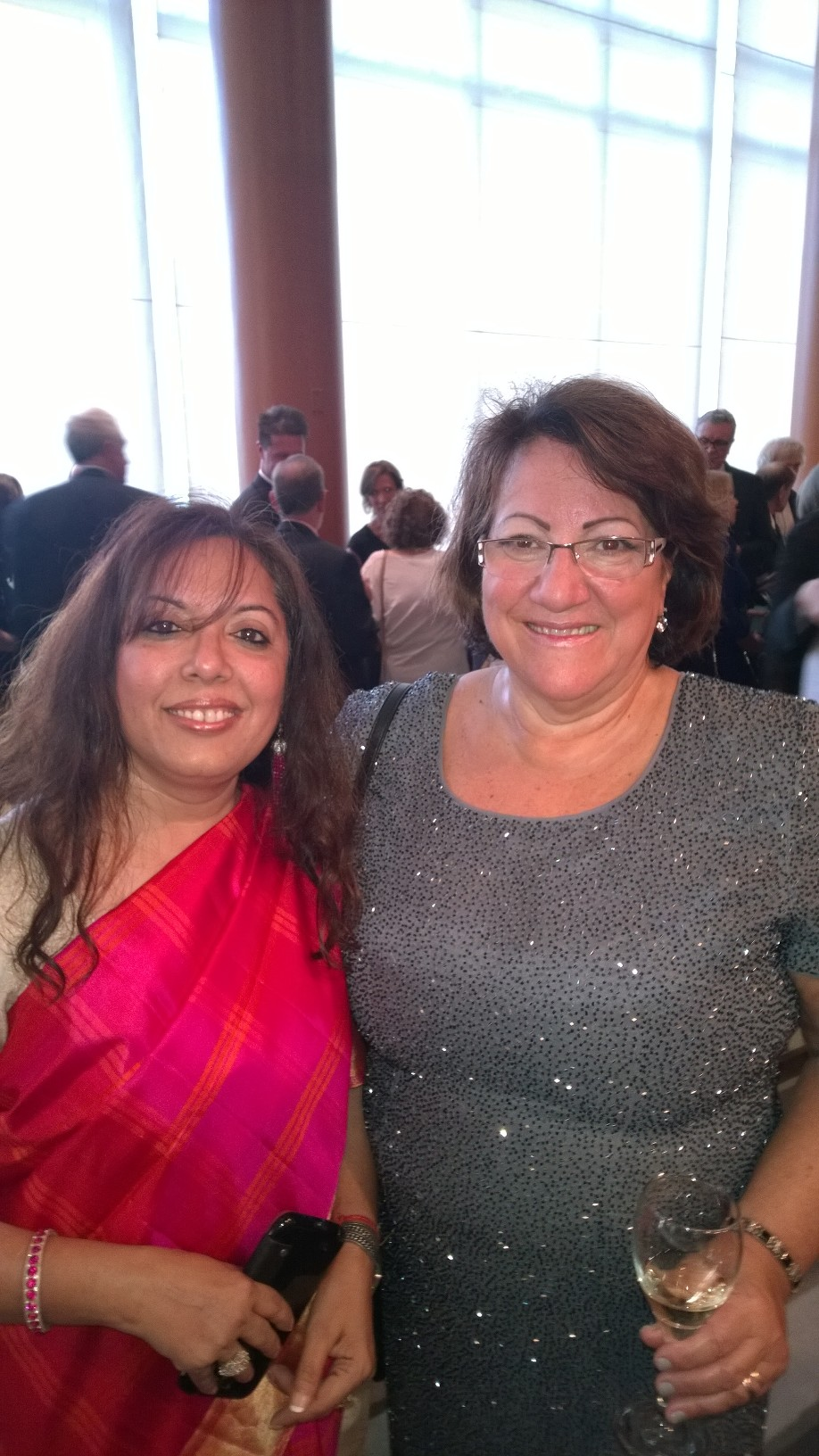 ABA International President Elect Martha Hubner & Smita Awasthi ABAI 2014 Chicago