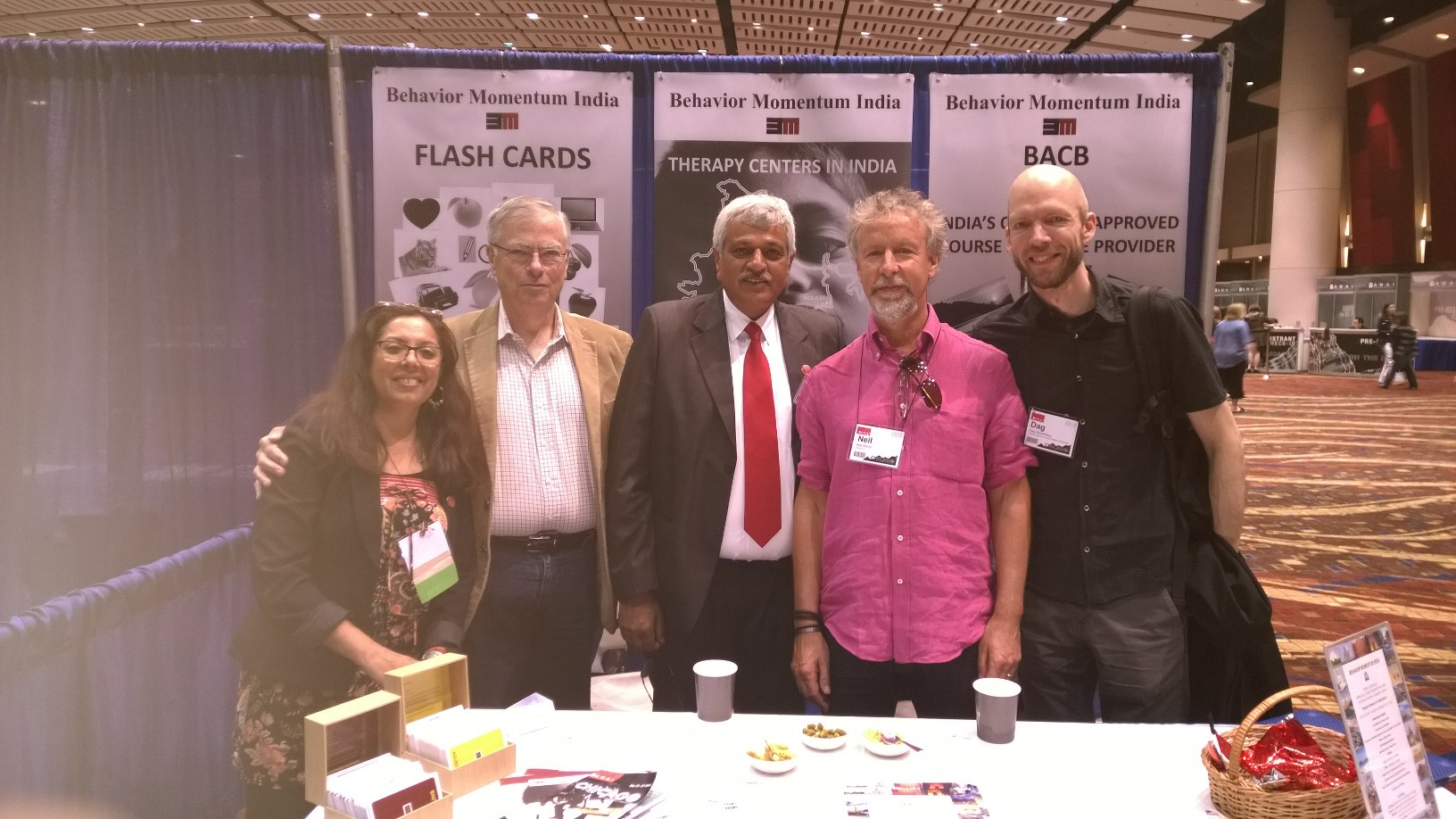BMI Booth ABAI 2014 Chicago with Mike, Neil