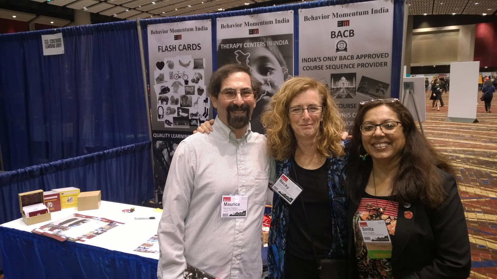 Maurice & Becky at BMI Booth ABAI 2014